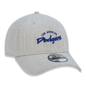 Boné New Era 920 MLB Los Angeles Dodgers Essentials Feature Cinza
