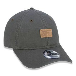 Boné New Era 940 Strapback Patch New Era Branded Verde