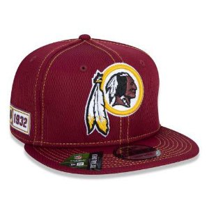 Boné New Era 950 NFL Washignton Redskins On-field Sideline Vermelho