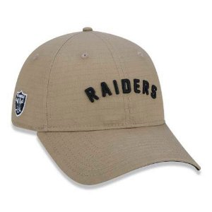 Boné New Era 920 NFL Oakland Raiders Essencial Ground Kaki