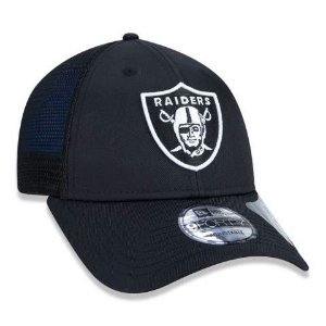 Boné New Era 940 NFL Oakland Raiders Repreve Preto