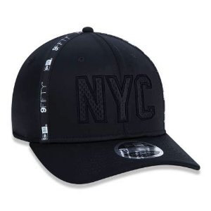 Boné New Era 950 NYC New York City Stretch Snap Preto