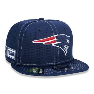 Boné New Era 950 NFL New England Patriots On-field Sideline Azul