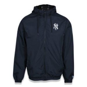 Jaqueta New Era Corta Vento MLB New York Yankees Preto