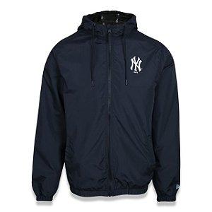 Jaqueta New Era Corta Vento MLB New York Yankees Preto