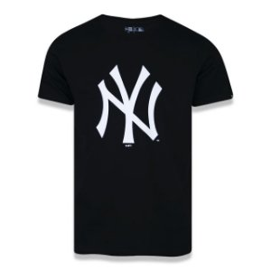Camiseta New Era MLB New York Yankees Preto