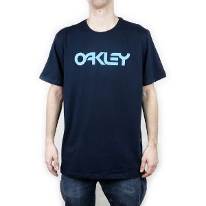 Camiseta Oakley Mark II Ss Navy Blue