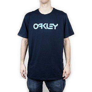 Camiseta Oakley Mark II Ss Navy Blue