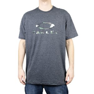 Camiseta Oakley Camo SS Jet Black Heather