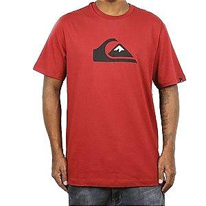 Camiseta Quiksilver Logo Color Vermelho
