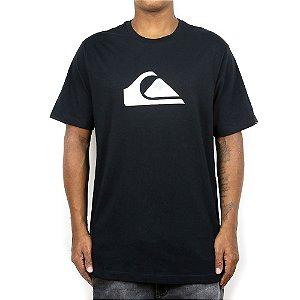 Camiseta Quiksilver Logo Basic Preto