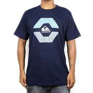 Camiseta Quiksilver New Look Marinho
