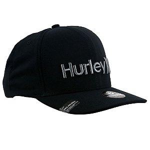 Boné Hurley Snapback Dri-Fit O&Only Preto