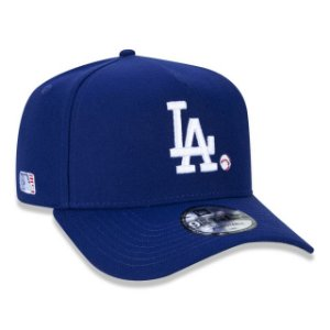 Boné New Era 940 MLB Los Angeles Dodgers A-Frame Snapback Marinho