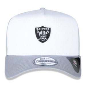 Boné New Era 940 NFL Oakland Raiders A-Frame Snapback Branco