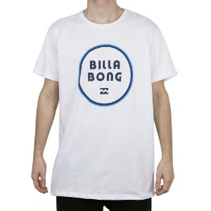 Camiseta Billabong Básica Gold Coast Branco