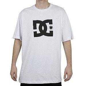 Camiseta DC Básica Star Branco