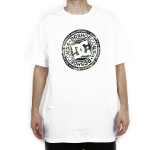 Camiseta DC Básica Circle Star Camuflado
