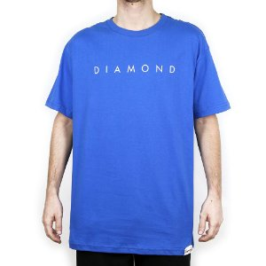 Camiseta Diamond Básica Leeway Royal