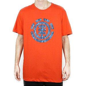 Camiseta Element Básica Boro Laranja