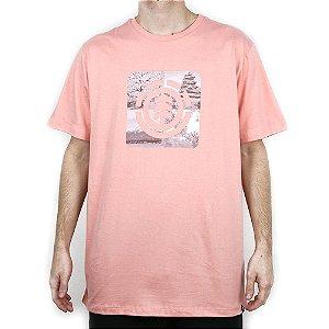 Camiseta Element Básica Four Season Salmão