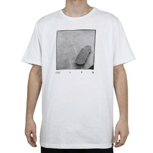 Camiseta Element Básica Skate Element Branco