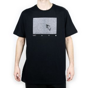 Camiseta Element Básica Pushing Preto
