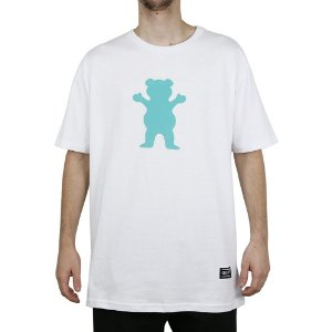 Camiseta Grizzly Básica Og Bears White