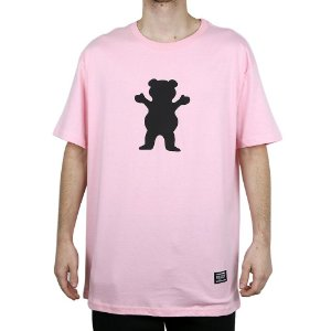 Camiseta Grizzly Básica Og Bears Pink