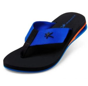 Chinelo Kenner Turbo Block AMP TUQ Preto/ Azul