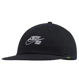 Boné Nike SB Heritage86 Cap Fatbill Black/ White