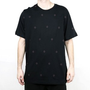 Camiseta Nike SB AOP Diamond Black