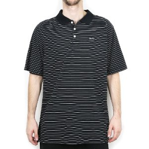 Polo Nike SB Dry Short Sleeve Stripe Black