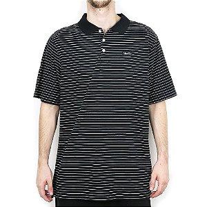 Polo Nike SB Dry Short Sleeve Stripe Black