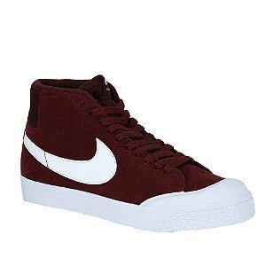 Tênis Nike SB Blazer Zoom Mid Red/ White