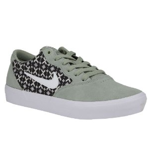 Tênis Nike SB Chron Solarsoft Canvas White