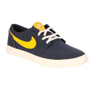 Tênis Nike SB Portmore II Solarsoft Canvas Midnight Navy
