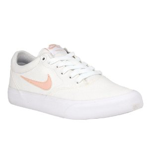 Tênis Nike SB WMNS Charge Canvas White