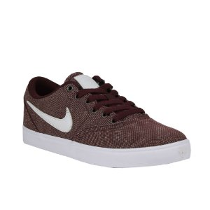 Tênis Nike SB WMNS Check Solarsoft Canvas Brown/ White