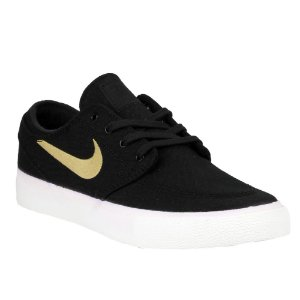 Tênis Nike SB Zoom Stefan Janoski Canvas RM Black/ Brown