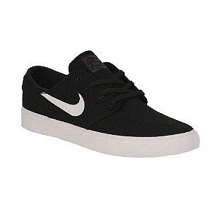 Tênis Nike SB Zoom Stefan Janoski Canvas RM Black/ White