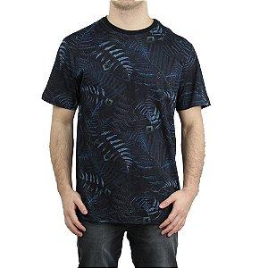 Camiseta MCD Especial Full Dark Fern Preto/ Azul