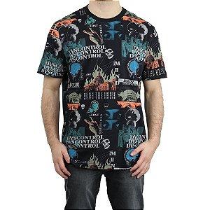 Camiseta Lost Especial Mind Dyscontrol Laranja