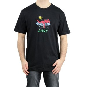 Camiseta Lost Especial Hofmann Preto