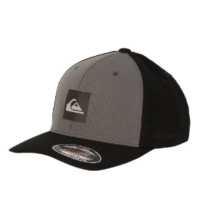 Boné Quiksilver Flex Solid Transfer Dark Grey