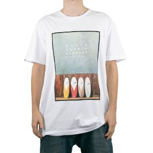 Camiseta Rusty Muffintop SB Branco