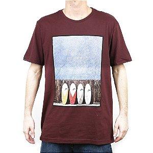 Camiseta Rusty Muffintop SB Vinho