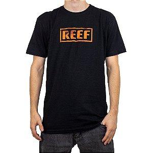 Camiseta Reef Destroyed Preto