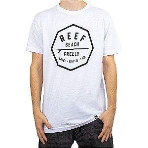 Camiseta Reef Beach Freely Branco