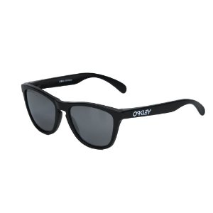 Óculos Oakley Frogskins Matte Black Black Iridium Polarized